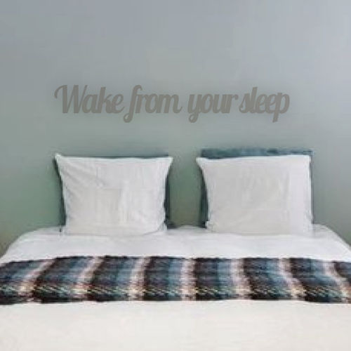 WAKE FROM YOUR SLEEP